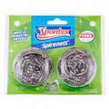 Spontex Spirenett Spugne Metalliche Inox 2Pz - Pagliette Abrasive