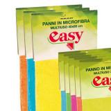Easy Panno Microfibra Per Pavimenti 40X60Cm - Colori Assortiti