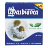 Lavasbianca Sbiancante Tessuti - 10 Buste - Capi Bianchi In Lana Seta Cotone