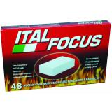 Italfocus 48 Tavolette Accendifuoco - Per Camini E Barbecue - Bbq