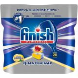 Finish Quantum Detersivo Lavastoviglie In Pastiglie - 20 Tabs - Limone