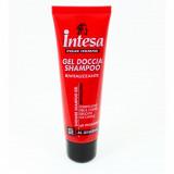 Intesa Pour Homme Gel Doccia Shampoo - 50Ml - Ginseng - Travel Size Viaggio