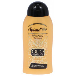 Splend'or Balsamo Per Capelli - 300Ml - Olio Splendente Illuminante Setosi
