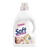 Soft Detersivo Liquido Per Capi Delicati 1 Litro - 16 Lavaggi - Baby Carezza