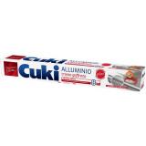 Cuki Alluminio Per Alimenti Doppia Forza - 8 Metri - A Trama Goffrata