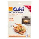 Cuki Sacchetti Forno Per Cottura Dietetica 8Pz