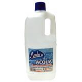 Ambra Acqua Demineralizzata 2L - Per Ferri Da Stiro, Caldaie, Batterie Auto