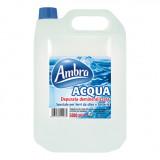 Ambra Acqua Demineralizzata 5L - Per Ferri Da Stiro, Caldaie, Batterie Auto