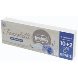 Tenderly Fazzolettini Di Carta Da Naso - 12 Pacchetti Da 9 Pezzi