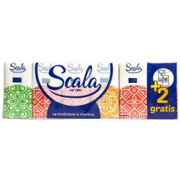 Scala 12 Fazzoletti Di Carta Da Naso - 12 Pacchetti Da 10 Pz