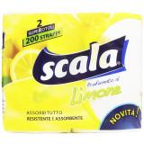 Scala Carta Asciugatutto Maxi 2 Rotoli - Al Limone