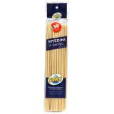 Panleri' Spiedini In Bamboo Da 25Cm - 50 Pezzi - Arrosti - Barbecue