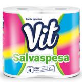 Vit Carta Salvaspesa - Carta Igienica Due Veli - 4 Rotoli