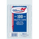 Palette Caffe' In Plastica 100Pz