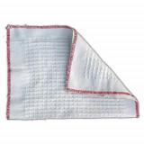 Panno Pavimenti In Cotone Bianco - Straccio Tradizionale - 67 X 38 Cm