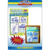 Fatigati Telo Protettivo Multiuso Trasparente - 4X4 Metri - Copritutto