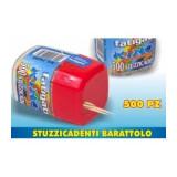 Fatigati Stuzzicadenti 500 Pezzi - In Barattolo