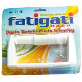 Portarotolo Carta Igienica - Con Biadesivo O Fissaggio Con Tasselli Inclusi