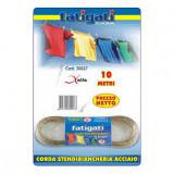 Fatigati Corda Da Bucato Stendipanni - 10 Metri - Acciaio Rivestito Plastica