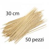 Fatigati Spiedini In Bamboo Da 30Cm - 50 Pezzi