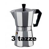 Caffettiera - Moka - 3 Tazze - Baronetta