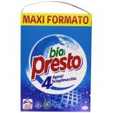 Bio Presto Detersivo Lavatrice In Polvere Fustone 80 Misurini 4.4Kg Classico