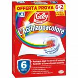 Grey L'acchiappacolore 8 Fogli (promo 6+2) - Previene Gli Errori Di Bucato