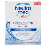 Neutromed Detergente Intimo 200Ml - Ph 5.5 - Micellare Uomo - Attivo For Men