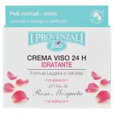 I Provenzali Crema Viso 24H - 50Ml - Idratante Leggera E Vellutata