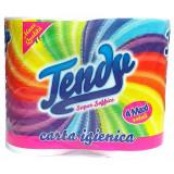 Tendy Carta Igienica Doppio Velo Super Soffice - 800 Grammi - 4 Rotoloni
