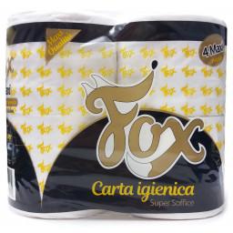 Fox Carta Igienica Doppio Velo Super Soffice - 800 Grammi - 4 Maxi Rotoloni
