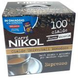 Nikol Caffe' Cialde 100Pz - 700G - 100 Cialde Da 7G