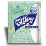 Tiffany Carta Igienica Maxi 6 Rotoli - Profumata Alla Camomilla - 370 Grammi