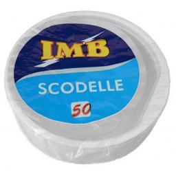 Scodelle Monouso In Plastica 500Cc - 50 Pezzi - Diametro 17Cm - Altezza 4Cm