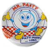 PIATTI MONOUSO IN PLASTICA EXTRA RIGIDI TIPO KG PIANI MR PARTY