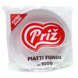 Priz Piatti Monouso In Plastica - Extra Rigidi - 750G - Fondi