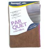 Smart Pannopell Panno In Microfibra Per Parquet - 40X55Cm - Marrone O Viola