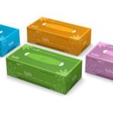Lulu' Veline - 150 Fazzolettini Di Carta - Pratico Box Dispenser Colorato