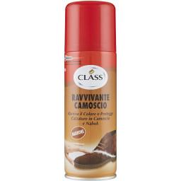 Class Spray Ravvivante Per Scarpe In Camoscio - 200Ml - Marrone