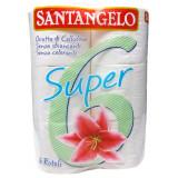 Santangelo Carta Igienica 6 Rotoloni - Trapuntata A 3 Veli
