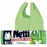 Elios Netti' Sacco Ultraresistente Antiforo 28L - 15 Pezzi - Profumo Mela