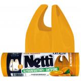 Elios Netti' Sacco Ultraresistente Antiforo 28L - 15 Pezzi - Profumo Arancia
