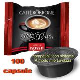 Borbone Don Carlo Caffe' Miscela Rossa 100 Capsule - Compatibili A Modo Mio