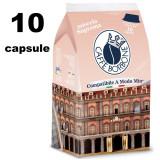 Borbone Don Carlo Caffe' Miscela Blu 10 Capsule - Compatibili A Modo Mio