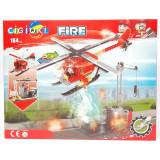 Costruzioni Tipo Lego - Set Fire 2In1 - 164 Pezzi - 6Anni+ - Pompieri
