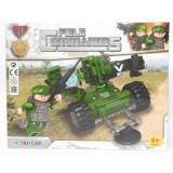 Costruzioni Tipo Lego - Set Field Commandos - 6 Anni+ - Cannone Militare