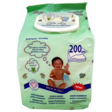 Baby Fresh Salviettine Imbevute Baby 200Pz - Con Tappo Apri E Chiudi Pop-up
