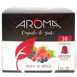 Aroma Light 30 Capsule Di Gusto - Frutti Di Bosco - Compatibili Nespresso