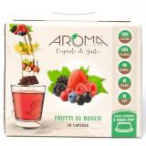 Aroma Light 30 Capsule Di Gusto - Frutti Di Bosco - Compatibili A Modo Mio