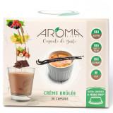Aroma Light 30 Capsule Di Gusto - Creme Brulee - Compatibili A Modo Mio